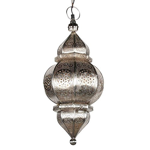 albena shop 71-0195 Kaja orientalische Lampe H 50cm / ø 23cm 1