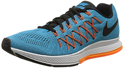 new styles 99681 0cfb5 Nike Air Zoom Pegasus 32 - Zapatillas para hombre, color azul / naranja /  negro / blanco, talla 40