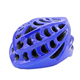 Riding Casco Elegante Bluetooth Jugador Música Voz Navegación Seguridad Protección Casco Adulto Bicicleta Casco,Blue
