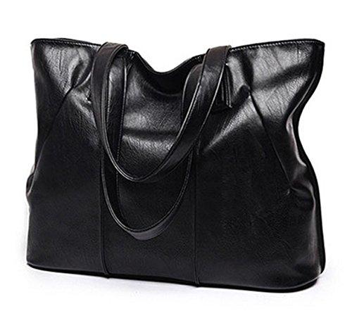 Keshi Pu Cool Damen Handtaschen, Hobo-Bags, Schultertaschen, Beutel, Beuteltaschen, Trend-Bags, Velours, Veloursleder, Wildleder, Tasche Grau