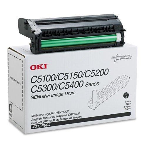 Okidata Black Image Drum Kit (C5100n/C5150n/C5200n/C5300n/C5400series/C5510MFP) by Oki Data - Oki Image Drum Kit