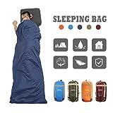 CAMTOA–Saco de dormir bag-ultrlight, Multicolour, fácil de empacar para Camping viaje senderismo exterior & interior utiliza