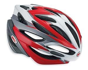 Bell-Casco da ciclista, Unisex - Adulto, Array, Rojo / Negro (Red/Black), S