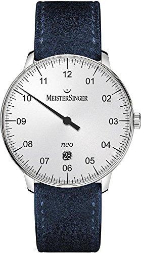 MeisterSinger Forme et style argent automatique automatique NE401