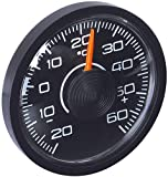 "hr-imotion 10010001 Innen-Thermometer ""Slim"" für Auto"