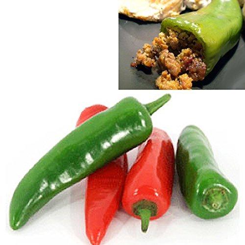 ANAHEIM (New Mexico) 10 SEMI peperoncino taglia grande ideale ripieno - New Mexico Piastra