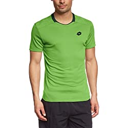 Lotto Sport T-Shirt Kurzarm 1000 - Camiseta de tenis para hombre, color multicolor, talla 2XL