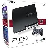 PlayStation 3 - Konsole Slim 160 GB (J-Model) inkl. Dual Shock 3 Wireless Controller