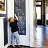 Vinyl Blackboard Chalk Board Wall Sticker Wrapping Paper 43cm x 200cm For Home School & Office by FANCY-FIX