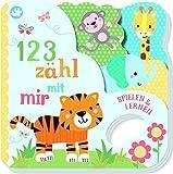 Little Learners - 1 2 3 zähl mit mir!: Mit Griffloch und origineller Kontur