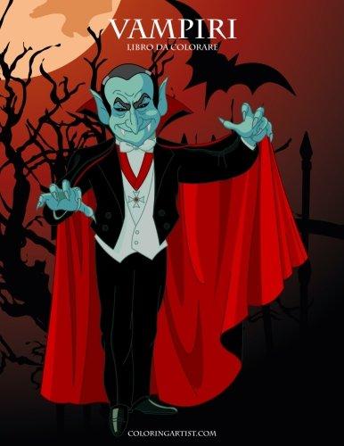 Vampiri Libro da Colorare 1