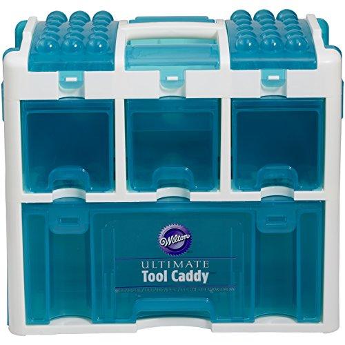 Wilton Ultimate Werkzeug Caddy, mehrfarbig (Wilton Kuchen Dekorieren Tipps)