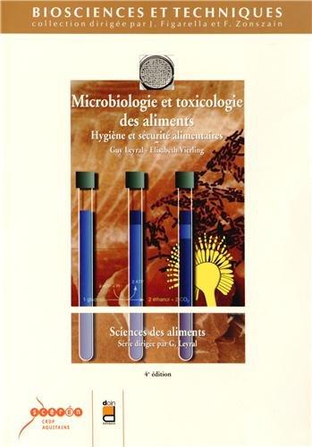 Microbiologie et toxicologie des aliments : Hygine et scurit alimentaires