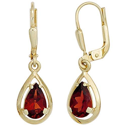 JOBO Die Ohrringe sind aus 585 Gelbgold gefertigt