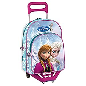 TROLLEY GRAND SAC A DOS DISNEY FROZEN LA REINE DES NEIGES 40 CM