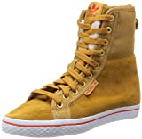 adidas Honey Hi Collegiate W G95621, Damen Walkingschuhe, Beige (Wheat/Wheat/Hi-Res Red F13), EU 40 2/3 (UK 7)