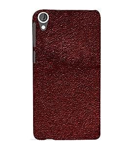 EPICCASE dark brown mud Mobile Back Case Cover For HTC Desire 820 (Designer Case)