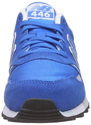 New Balance U446V1, Baskets Basses Homme Bleu (Blue)