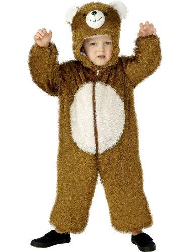 Kostüm Drei Bären - Smiffys Karneval Kinder Kostüm Bär 3 - 5 Jahre als Tier verkleiden Overall
