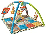 BKIDS FRANCE Twist & Fold Tapis de Jeu Multicolore