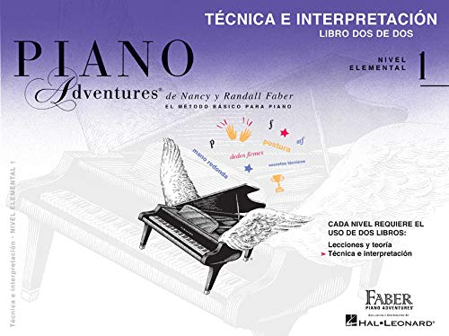 Libro de técnica e interpretación, Nivel 1 Edición en español, volumen 2 (Piano Adventures)