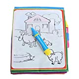 #8: BESTVECH Kids Animals Painting Magic Water Drawing Book Water Coloring Book Toy