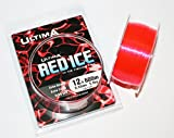Ultima RED ICE Hi-Vis fishing line 12lb - 600m