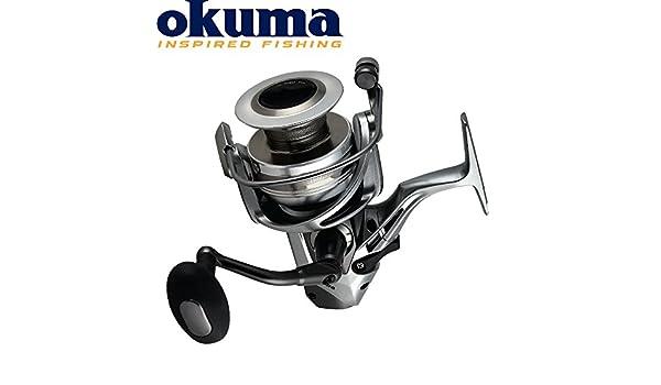 Freilaufrolle zum Karpfenangeln Angelrolle zum Angeln auf Karpfen Okuma Coronardo CDX-65 Karpfenrolle mit Freilaufsystem