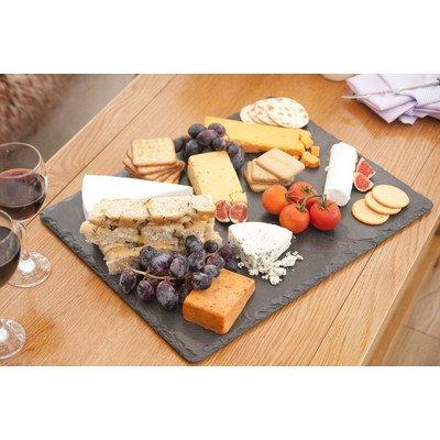 Les plats en ardoise Grand plateau à fromage en ardoise 60 x 45 cm