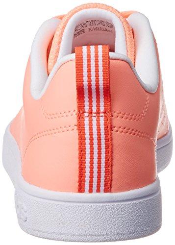 adidas Vs Advantage Clean W, chaussure de sport femme Arancione ( Brisol/Brisol/Corsen)
