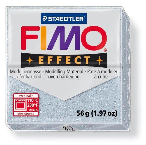 Fimo Effects Pasta Modellabile Glitter Argento