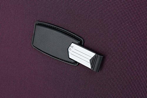 51s%2BIvwglSL - Beibye 4ruedas maleta de viaje 8005plástico maletín equipaje Maleta Juego de L XL de m en 5colores (Lila, Juego)