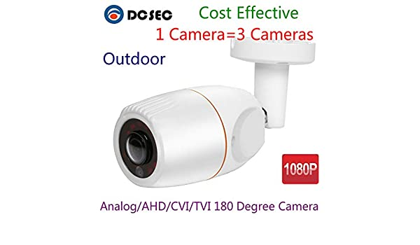 2.0MP 180 Degree Fisheye HD 1080P AHD Cam CCTV Camera waterproof IR night vision