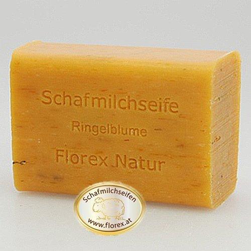 Florex Schafmilchseife Ringelblume 100 g Stück Seife Naturseife Schafmilch