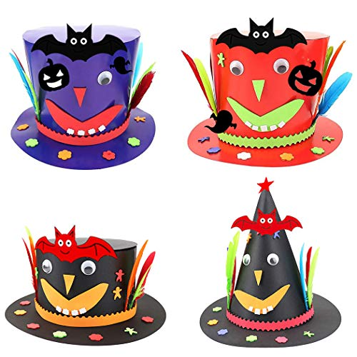 alloween Hut Dekorative Verschiedene DIY Halloween Kappe Kostüm Hut Party Hut ()