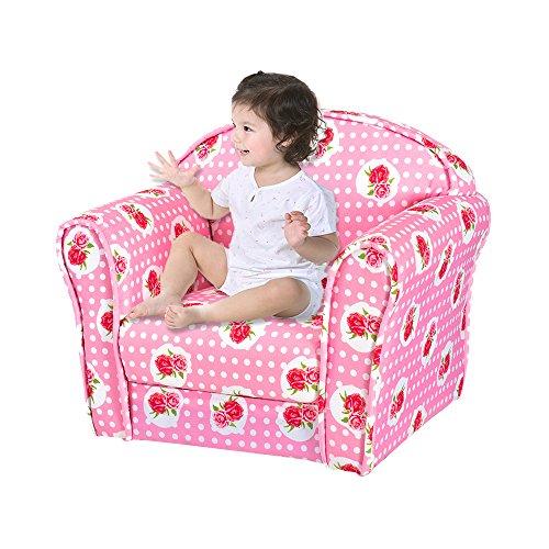 Ruication Tumbona para niños, sillón con diseño de Estrellas, de Animales, sofá...