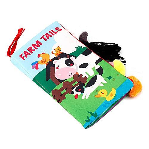fant cartoon schwanz buch gebaut in sound papier kleinkind frühen pädagogischen entwicklung lernspielzeug(Bauernhof) ()