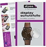 dipos I 6X Schutzfolie klar passend für Fossil Q Commuter Folie Bildschirmschutzfolie