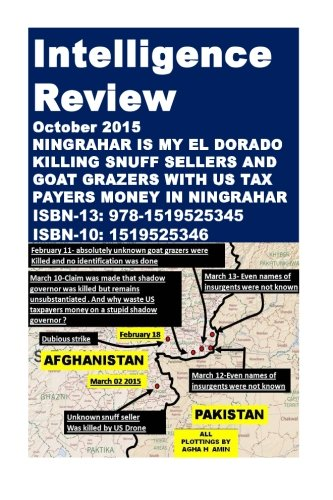 How Secrecy is being used to fleece US taxpayers in Drone Strikes (Drone Scam in Ningrahar-Part One) ()
