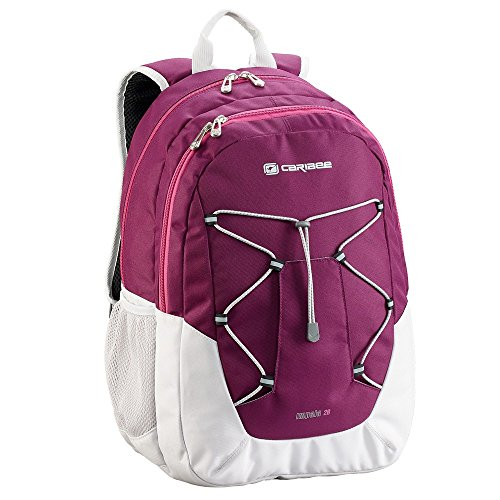 caribee-impala-rucksack-for-school-college-grape-snow