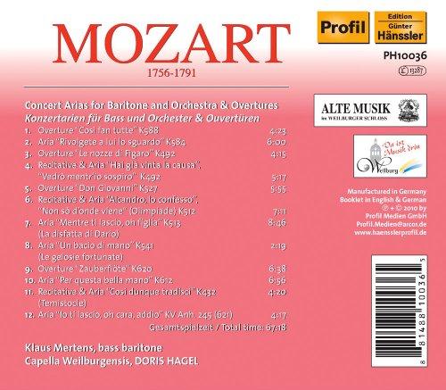 Concert Arias [Mertens/Cap Wei [Import allemand]