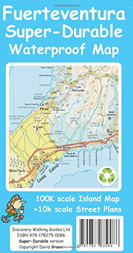 Fuerteventura Super-Durable Map por David Brawn