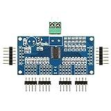 Flushzing 16-Kanal-12-Bit-Brett PWM/Servotreiber-I2C-Schnittstelle PCA9685-Modul f¨¹r Arduino Raspberry Pi-Schild-Modul Servo-Schild DIY