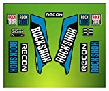 Pegatinas HORQUILLA Rock Shox Recon 2016 ELX34 Stickers Aufkleber AUTOCOLLANT Decals Bicicleta Cycle MTB Bike 26