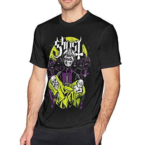 Livetees Ghost Bc Herren Weich T-Shirt Black L (Ghost Bc Kein Kostüm)