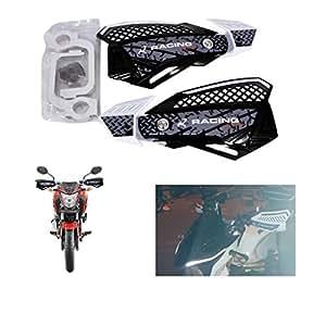 Spedy Bike Handlebar Handguard Productor Fits, White Color33 For Honda CBR 150R