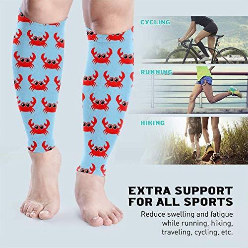Mann Spider Kostüm Muskeln - Zcfhike Sexy Retro Leopard Print Unisex Leg Compression Calf Sleeve - Helps Calf Leg Pain Relief - For Runners,Sports, Cycling
