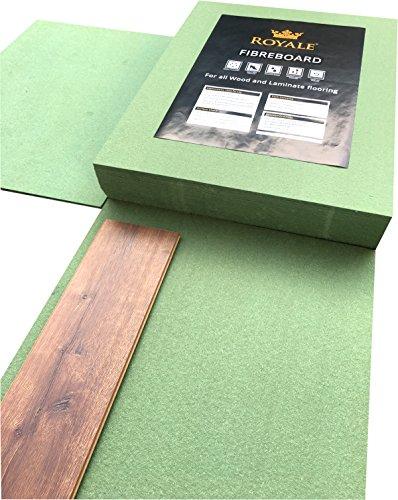Royale-Hartpappe, Holz- und Laminatunterlage-9,78Quadratmeterpro Packung-7mm Stärke