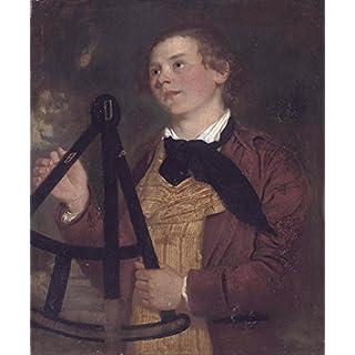 Spiffing Prints Joseph Wright - John Adey Repton - Large - Semi Gloss - Brown Frame