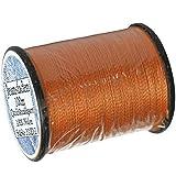 1 Stück Spule a. 100 m Qualitäts - Nähgarn Jeansfaden Farb-Nr.1084 orange, Ne 25.3/2, 100% Nylon für die Nähmaschine Garn Garne, 1703